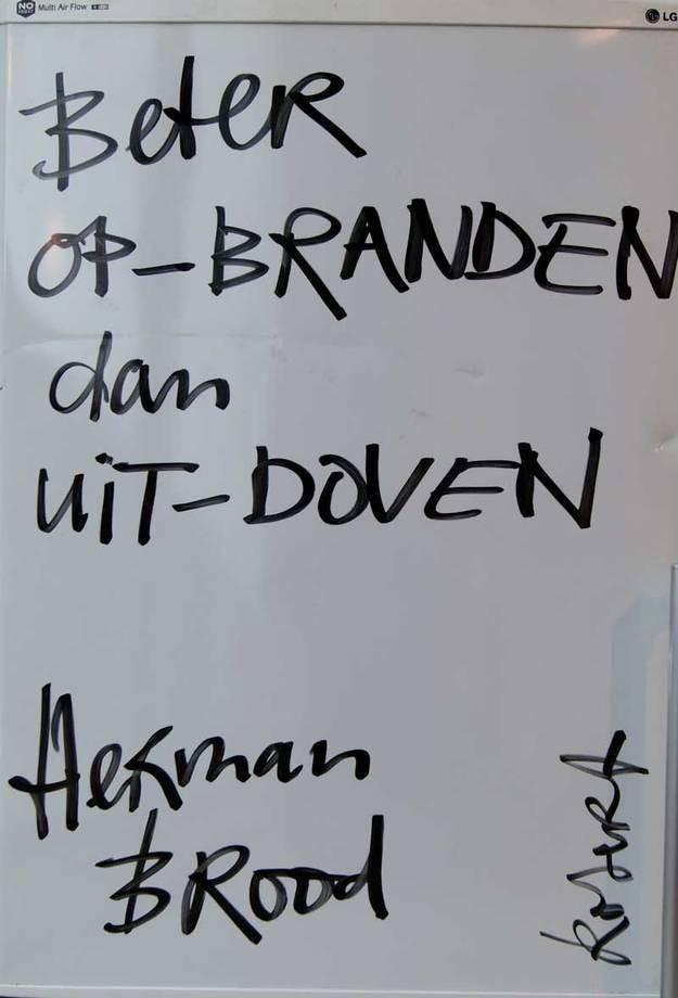 Bekende Citaten Democratie : Quote of the friday herman brood mefrouw